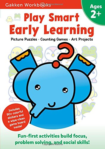 Play Smart Early Learning 2+: For Ages 2+ (Gakken Workbooks)