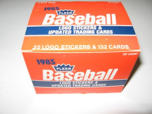 1985 Fleer Baseball Update Factory Set