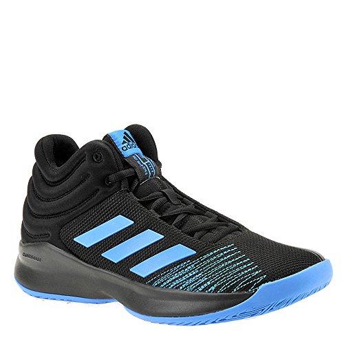 adidas Men's Pro Spark 2018 Basketball Shoe, Bright Blue/Black, 9.5 M US