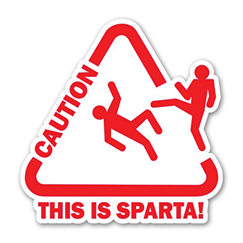 SPARTA - [CUSTOMI] Decal Sticker for Car Truck Macbook Laptop Air Pro -