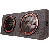 Pyramid PP12 Dual 12-Inch 300 Watt 4Way Stereo Hatchback Speaker System