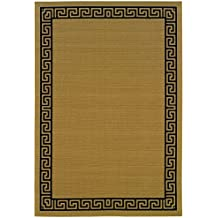 "Oriental Weavers  Lanai 782Y1 Indoor/Outdoor Area Rug  3'7"" X 5'6"""