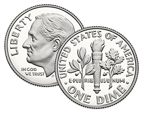 (2019 S Clad Proof Roosevelt Dime US Mint)