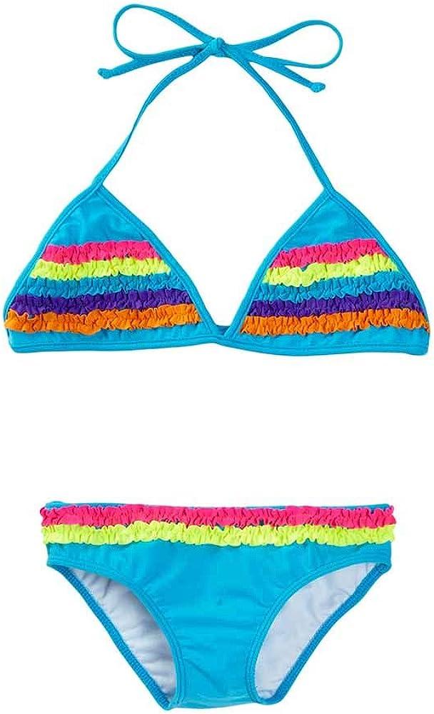 Azul Blue Chasing Rainbows Triangle Bikini