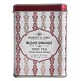 Best Harney & Sons Fruit Teas - Harney & Sons Herbal Fruit BLOOD ORANGE Iced Review