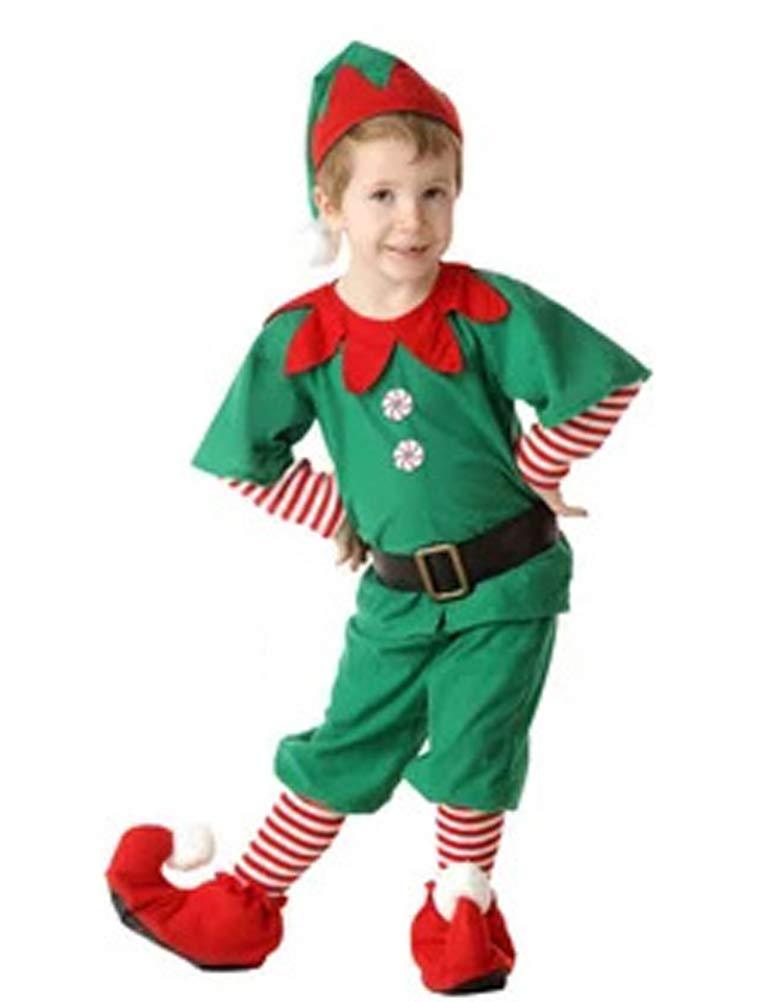 ARAUS Costume della Santa del Partito Pagliaccetti Cosplay Prima Infanzia Bimbo Vestito Babbo Natale 3 Pezzi 0-24 Mesi 6110P10