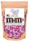 Pink Medley m&m 1 Pound Milk Chocolate in CandyOut Sealed Stand Up Bag