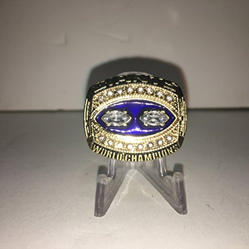 New York Giants House (Lawrence Taylor #56 New York Giants NY High Quality Replica 1990 Super Bowl SB XXV Ring Size 11)