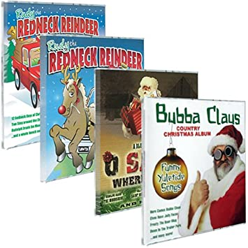 redneck christmas songs collection 4 pack - Redneck Christmas Songs
