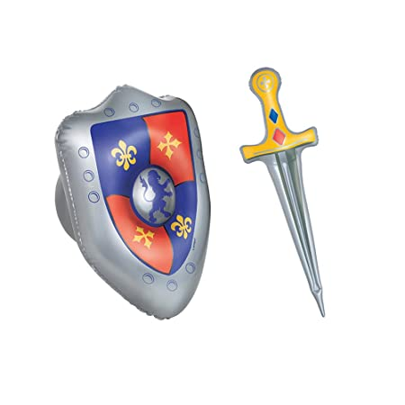 Accesorios de Halloween - espada y el escudo medieval ...