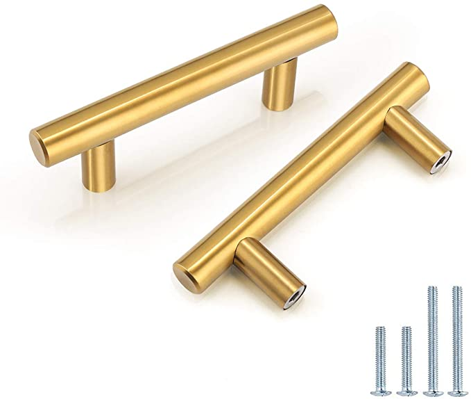 2.5 3.5 Gold Drawer Pull Handles Drop Cabinet Pull Handles Dresser Knob Pulls Handle Vintage Style 2 12 3 12 64 89 mm Lynns Hardware