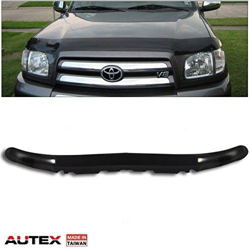 2006 Toyota Tundra Bug - AUTEX Hood Protector Bug Shields Fits for 2001-2004 Toyota Sequoia 2000-2006 Toyota Tundra Bug Deflector Hood Protector