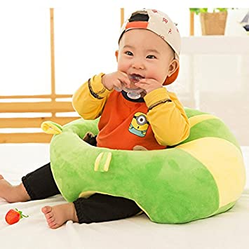 1PC Infant Soft Support Sofa Seat Learning to Sit Chair Keep Sitting Posture Comfortable for 0-2 Year