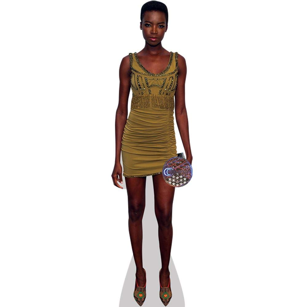 Celebrity Cutouts Maria Borges (Gelb Dress) Pappaufsteller lebensgross