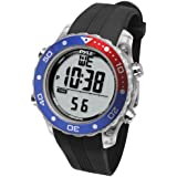 Pyle Waterproof Underwater Snorkeling & Diving Multi-Function Water Sport Wrist Watch with Dive Mode, Chronograph, Stopwatch, Water Temperature, Dive Depth & Duration