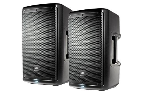 PACKAGE! TWO 2x JBL EON610 10' 2-WAY 1000W ACTIVE MULTIPURPOSE SELF-POWERED SOUND REINFORCEMENT PORTABLE LOUDSPEAKERS WITH BLUETOOTH