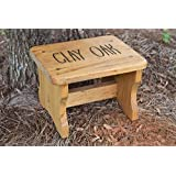 Personalized Kids Stepping Stool   Kids Step Stool   Personalized Gift For  Kids   Step Stool   Wood Stool