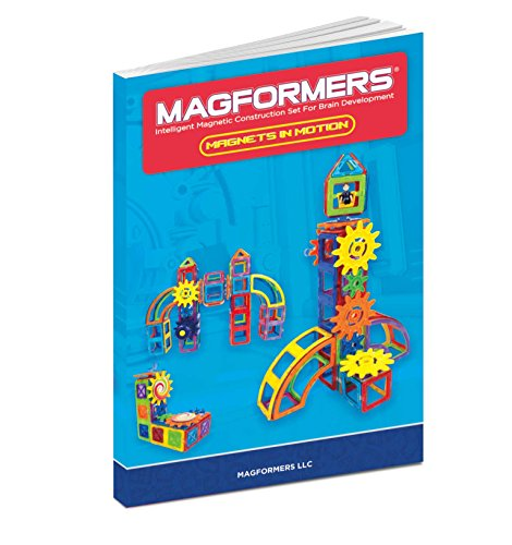 Magformers Magnets in Motion Set (61-pieces) Magnetic    Building      Blocks, Educational  Magnetic    Tiles Kit , Magnetic    Construction  STEM gear Set by Magformers (Image #7)
