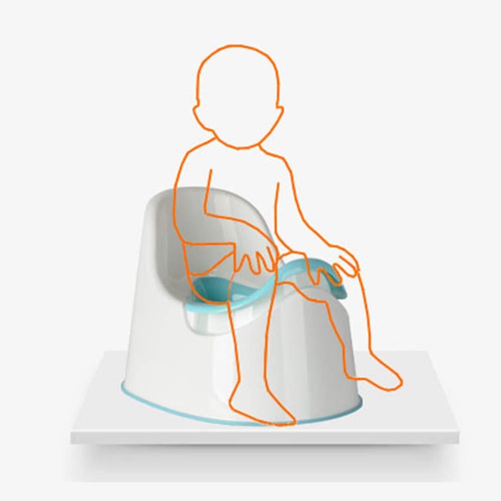 HXLQ Petit Pot B/éb/é Facile /À Nettoyer Pot Denfant En Bas /Âge Design Amovible Pot Gar/çon Et Fille,Toilette Portable Pour Enfant