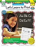 Let's Learn to Print - Traditional Manuscript, Grades Pk - 2, Sherrill B. Flora, 1933052007
