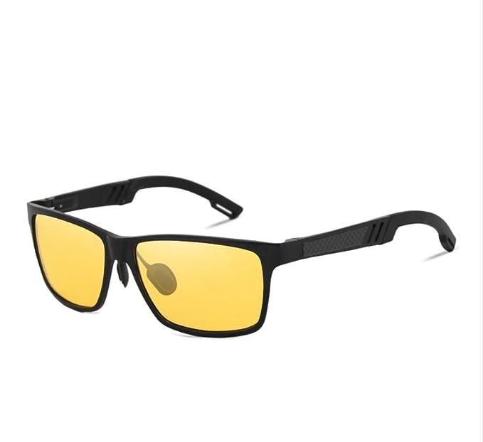 Gafas de sol polarizadas de visión nocturna buena calidad gafas polarizadas cristal amarillo visión nocturna de