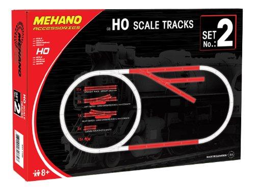 Mehano F102 Gleis-Ergänzungspackung, 30 Stück
