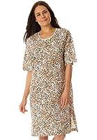 Dreams & Co. Women's Plus Size Tag-Free Knit Sleepshirt