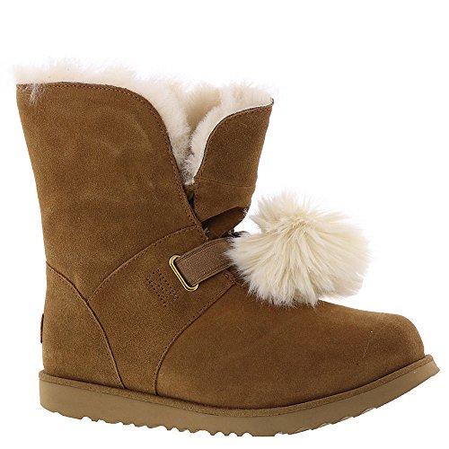 UGG Girls Isley WP Boot, Chestnut, 5 M US Big - Ugg Youth Boots Size 5