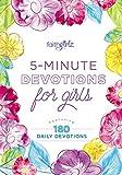5-Minute Devotions for Girls (Faithgirlz)