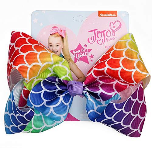 - Bows For Girl Hair Accessories Handmade Headwear Large Bows Dot Fashion Children Bow-Knot Print Hairpin 4