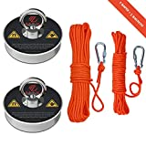 Max Magnets Fishing Magnet Kit, 2 Ropes with