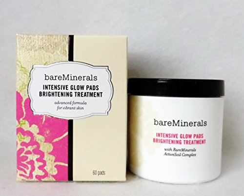 Bare Minerals Skincare Intensive Glow Pads Brightening Treatment 60 pads