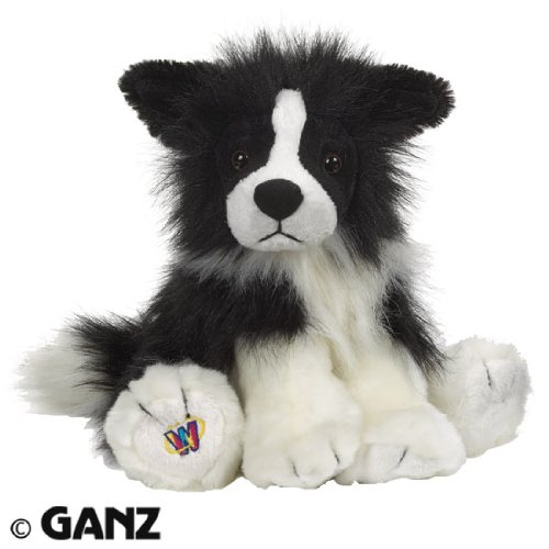 Webkinz Border Collie with Magnetic Bookmark