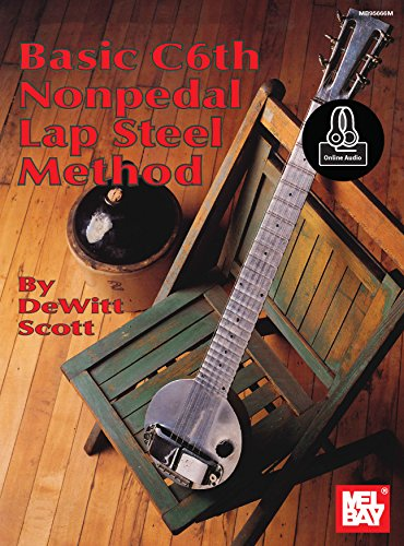 (Basic C6th Nonpedal Lap Steel Method)