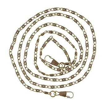 Prettyia 47inches DIY Metal Shoulder Cross Body Bag Handbag Replacement Chain Straps - Bronze
