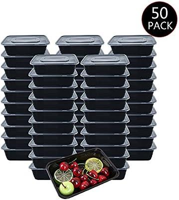 Amazon.com: HOMEE - Contenedores de comida para preparación ...