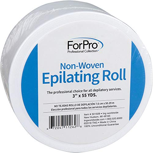 For Pro Non-Woven Epilating Roll, 3 Inch x 55 Yard (Strip Free Honee Gigi)