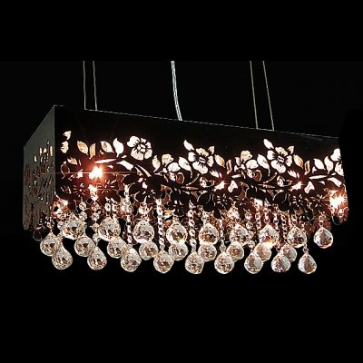 Clear Flower Ball Pendant Light Shade