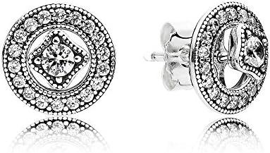 9a6cc6f29c0c8 Pandora Women's Vintage Allure Stud Earrings - 290721CZ: Amazon.com ...