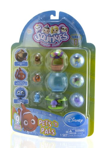 Squinkies Disney Pets 9 Piece Bubble product image