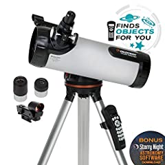 If you're in search of a computerized telescope with the same star locating technology found on our more advanced telescopes at a price that fits your family's budget, you'll love the Celestron 114LCM with all glass optics. This computerized ...