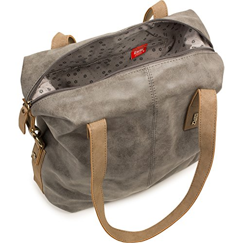 Dos Conny cy1260cxopt bolso 32cm - Topo, One Size Ice (Gris)