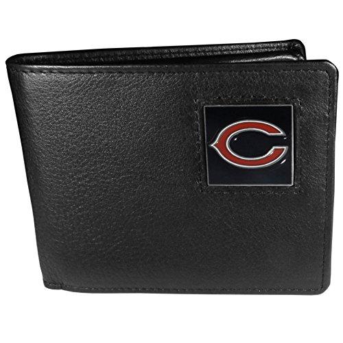 NFL Chicago Bears Leather Bi-fold Wallet (Chicago Bears Wedding)