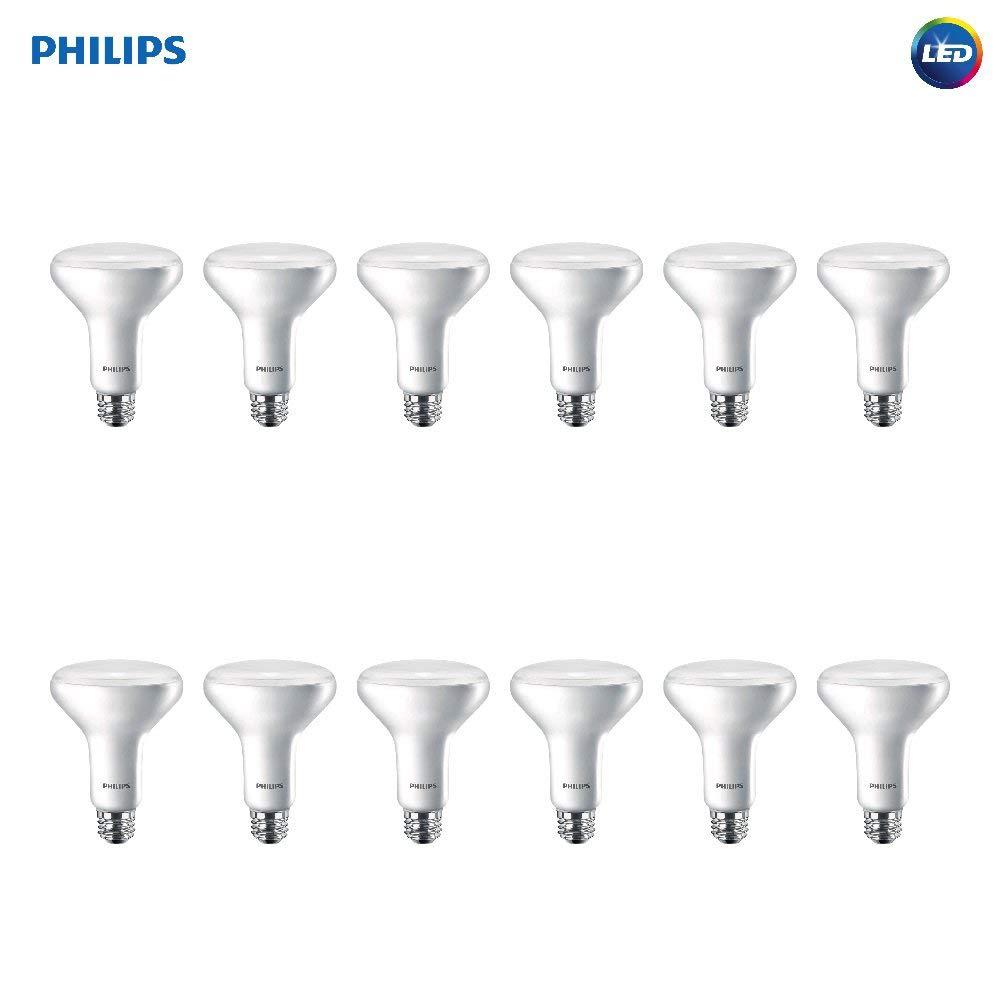 Philips 541037 LED Light Bulb, 12-Pack, White, Piece