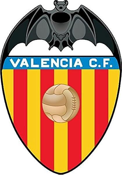 Valencia FC Spain Soccer Football Alta Calidad De Coche De Parachoques Etiqueta Engomada 10 x 12 cm: Amazon.es: Hogar