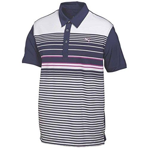 PUMA Golf Kids Boy's YD Stripe Polo