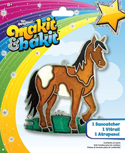 (Colorbok TB-48945 Makit and Bakit Suncatcher Kit, Horse)