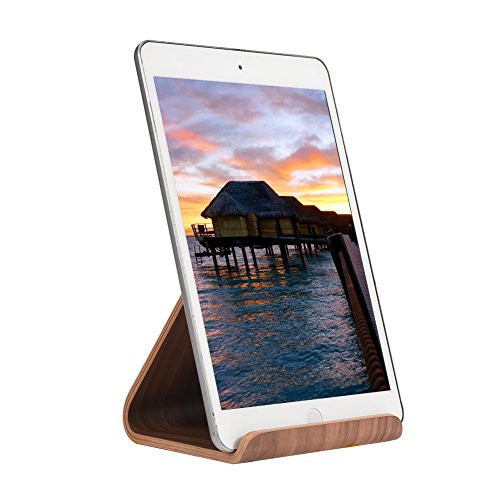 Tablet Stand for Ipad, SAMDI Wood Tablet