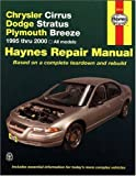 Chrysler Cirrus, Dodge Stratus, Plymouth Breeze, 1995 Thru 2000, Marc Scribner and John Haynes, 1563924013
