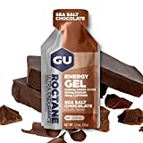 GU Roctane Ultra Endurance Energy Gel, Sea Salt Chocolate, 24-Count
